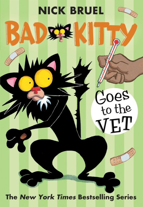 Bad Kitty Goes to the Vet Cover